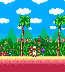 Kami Demo 3 - Island Platformer (PD) ROM