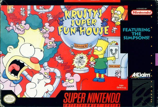 Krusty's Super Fun House  (V1.1)