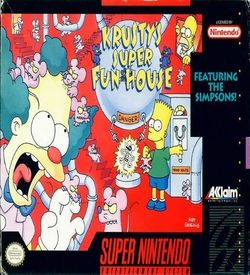 Krusty's Super Fun House  (V1.1) ROM