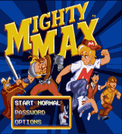 Mighty Max Demo (PD) ROM