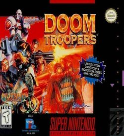 Mutant Chronicles - Doom Troopers ROM