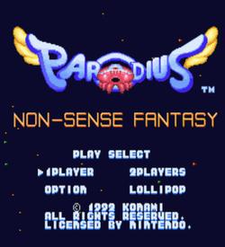 Parodius Non-Sense Fantasy ROM