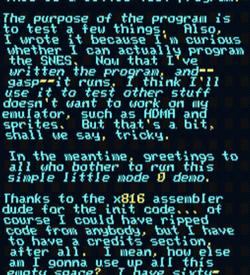 Qwertie's Test Cart (PD) ROM
