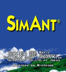 Sim Ant (37113) ROM