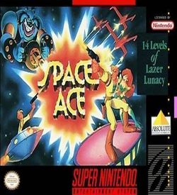Space Ace (Beta) ROM