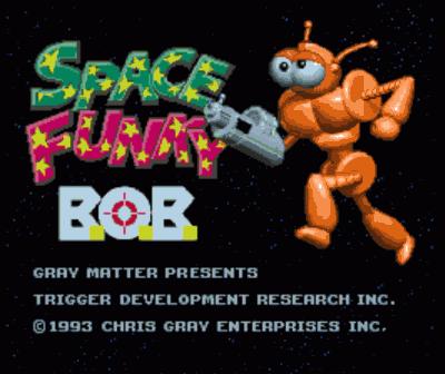 Space Funky B.O.B.