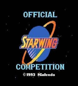 Star Fox Super Weekend Competition ROM
