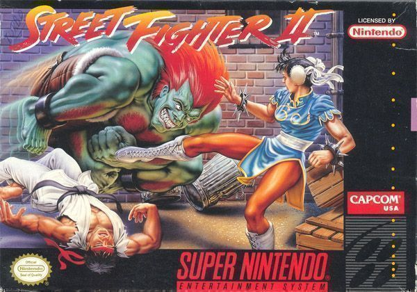 Street Fighter II Black Belt Edition (Hack)