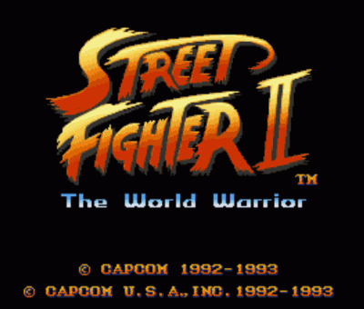 Street Fighter II Champ. Edition (Hack)