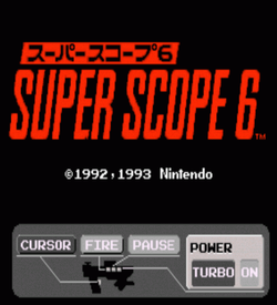 Super NES - Nintendo Scope 6 ROM