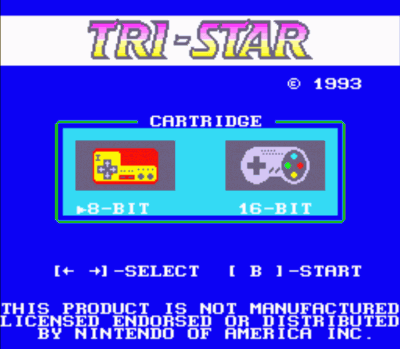 Tri-Star Dos - NES-SNES (Adaptor BIOS)