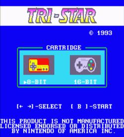 Tri-Star Dos - NES-SNES (Adaptor BIOS) ROM