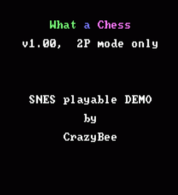 What A Chess (PD) ROM