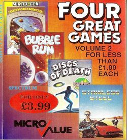 Four Great Games Volume 2 - Bubble Run (1988)(Micro Value) ROM
