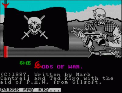 Gods Of War, The (1990)(Zenobi Software)[128K]