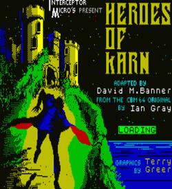 Heroes Of Karn (1984)(Interceptor Micros Software) ROM