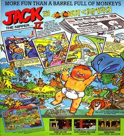 Jack The Nipper II - In Coconut Capers (1987)(Erbe Software)[re-release] ROM