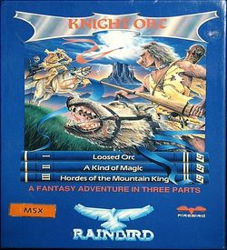 Knight Orc - Part 1 - Loosed Orc (1987)(Rainbird Software)[128K] ROM