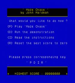 Maze Chase (1983)(Hewson Consultants)[16K] ROM