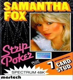 Samantha Fox Strip Poker (1986)(Martech Games)(Side A) ROM