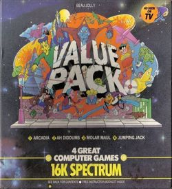 Value Pack 16k - Jumping Jack (1983)(Beau-Jolly)[16K] ROM