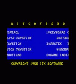 Witchfiend (1986)(Tynesoft)[128K][re-release] ROM