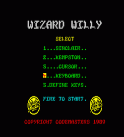 Wizard Willy (1990)(Codemasters) ROM